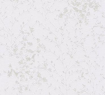 A.S. Création Mustertapete Designdschungel 2 by Laura N. in Metallic, Grau, Weiß