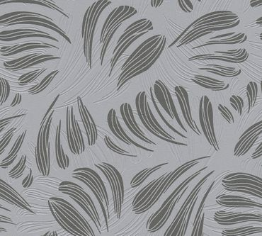A.S. Création Mustertapete Flavour in Metallic, Grau, Schwarz