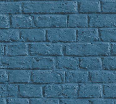 Livingwalls Mustertapete Metropolitan Stories Anke & Daan - Amsterdam in Blau