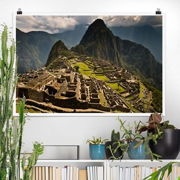 Poster - Machu Picchu - Querformat 2:3