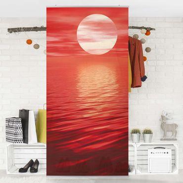 Raumteiler - Red Sunset 250x120cm