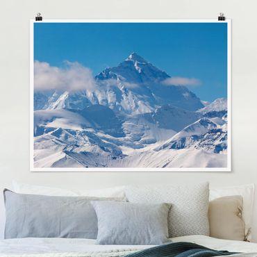 Poster - Mount Everest - Querformat 3:4