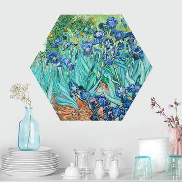 Hexagon Bild Forex - Vincent van Gogh - Iris