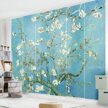 Schiebegardinen Set - Vincent van Gogh - Mandelblüte - 6 Flächenvorhänge