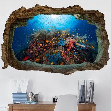 3D Wandtattoo - Lagune Unterwasser