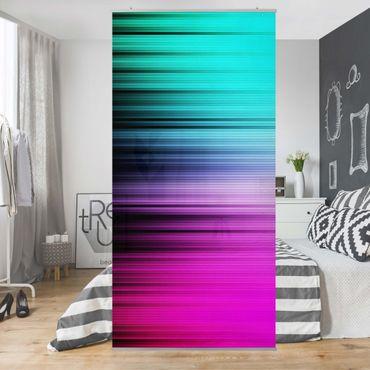Raumteiler - Rainbow Display 250x120cm