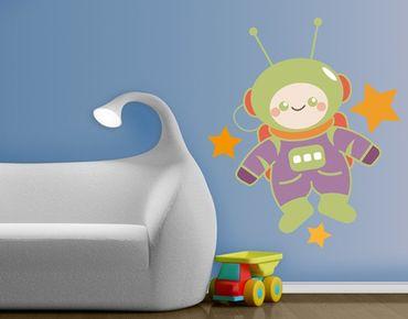 Wandtattoo Babyzimmer No.EK18 Astronaut