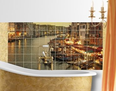 Fliesenbild - Großer Kanal von Venedig