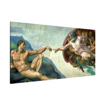 Magnettafel - Michelangelo - Sixtinischen Kapelle - Memoboard Panorama Querformat 1:2