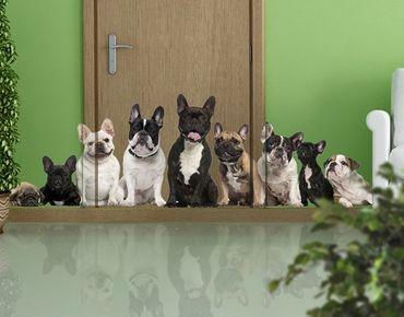 Wandtattoo Hund No.644 Familientreffen