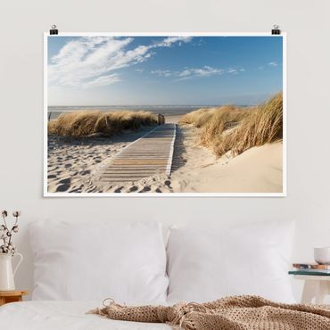 Poster - Ostsee Strand - Querformat 2:3