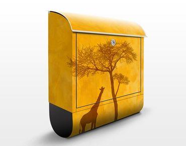 Briefkasten mit Zeitungsfach - Amazing Kenya - Hausbriefkasten