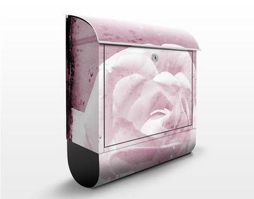 Briefkasten Vintage - Antique Pink - Briefkasten mit Zeitungsrolle