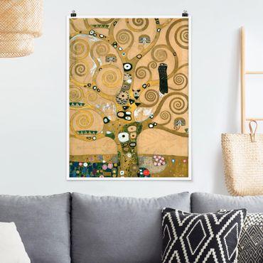 Poster - Gustav Klimt - Der Lebensbaum - Hochformat 3:4
