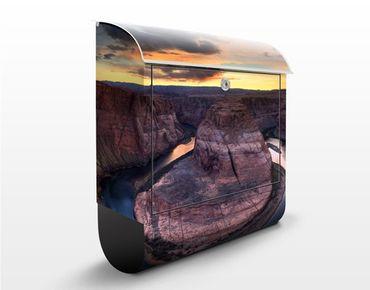 Briefkasten mit Zeitungsfach - Colorado River Glen Canyon - Hausbriefkasten