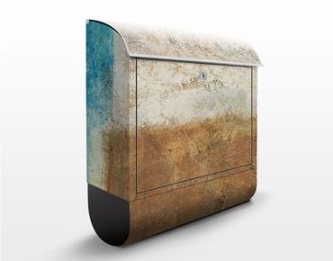 Briefkasten mit Zeitungsfach - Elements Of Life - Briefkasten modern