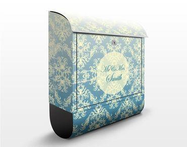 Briefkasten Vintage - No.EK431 Wunschtext Vintage Barock