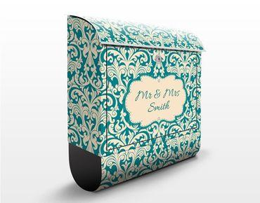 Briefkasten mit Zeitungsfach - Wunschtext The 12 Muses - Aoide