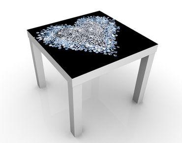 Beistelltisch - Diamant Herz
