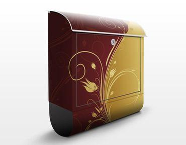 Briefkasten mit Zeitungsfach - Majestic - Wandbriefkasten