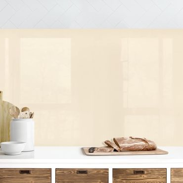 Küchenrückwand - Crème