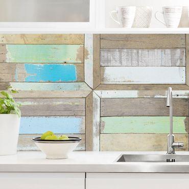 Küchenrückwand - Rustic Timber