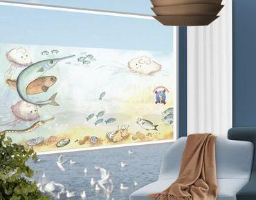 Fensterfolie - Sichtschutz Fenster Die kleine Seenadel© Zuschauer - Fensterbilder