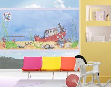 Fensterfolie - Sichtschutz Fenster Die kleine Seenadel© Entdeckungstour - Fensterbilder