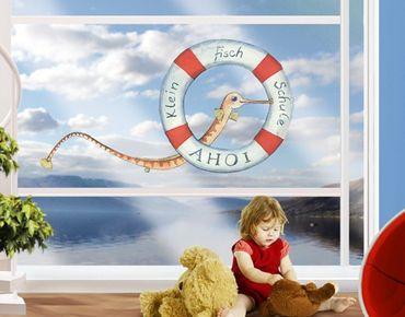 Fensterfolie - Fenstersticker Die kleine Seenadel© Die kleine Fischschule - Fensterbilder