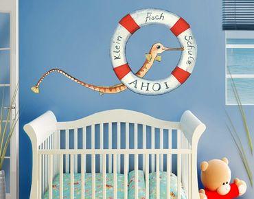 Wandtattoo Fische Die kleine Seenadel© Die kleine Fischschule