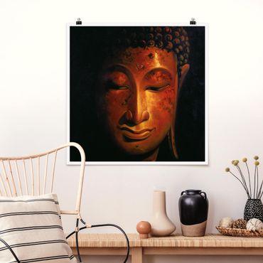 Poster - Madras Buddha - Quadrat 1:1