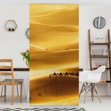 Raumteiler - Golden Dunes 250x120cm