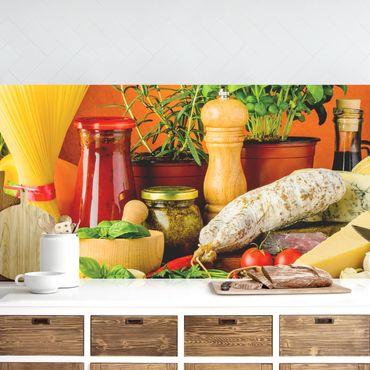 Küchenrückwand - Italienische Küche
