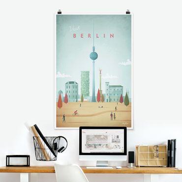 Poster - Reiseposter - Berlin - Hochformat 3:2