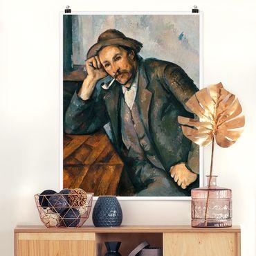 Poster - Paul Cézanne - Der Raucher - Hochformat 3:4