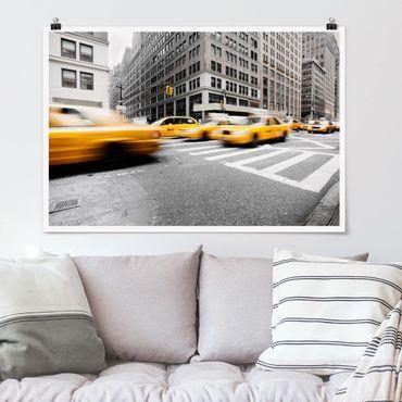 Poster - Rasantes New York - Querformat 2:3