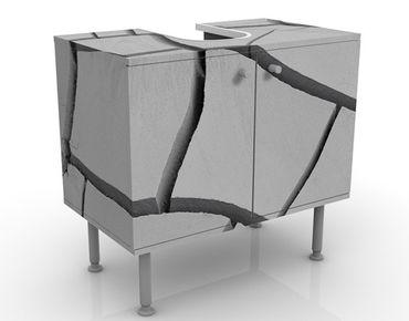 Waschbeckenunterschrank - African Earth - Badschrank Grau
