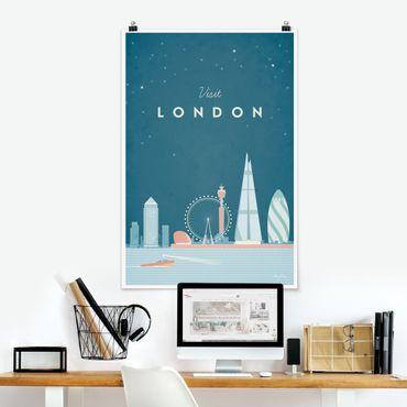 Poster - Reiseposter - London - Hochformat 3:2