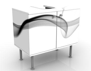 Waschbeckenunterschrank - Floater - Badschrank Weiß