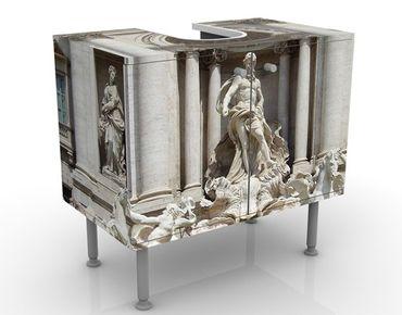 Waschbeckenunterschrank - Fontana Di Trevi - Badschrank Beige