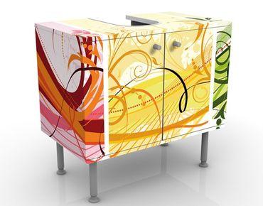 Waschbeckenunterschrank - Glory Colours - Badschrank Bunt
