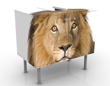 Waschbeckenunterschrank - König Löwe II - Badschrank Beige