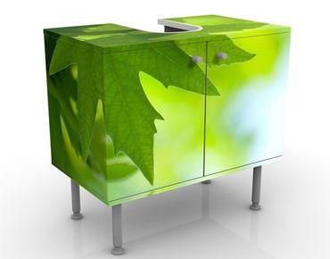 Waschbeckenunterschrank - Green Ambiance III - Badschrank Grün