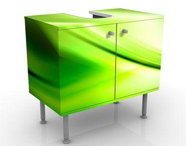 Waschbeckenunterschrank - Green Valley - Badschrank Grün