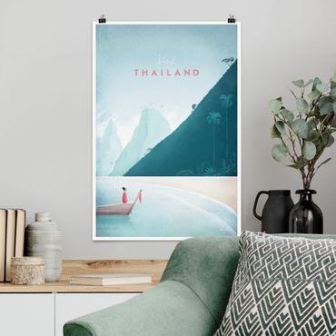 Poster - Reiseposter - Thailand - Hochformat 3:2