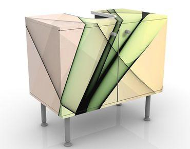 Waschbeckenunterschrank - Inspiration - Badschrank Grün