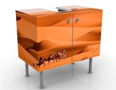 Waschbeckenunterschrank - Namib Desert - Badschrank Orange