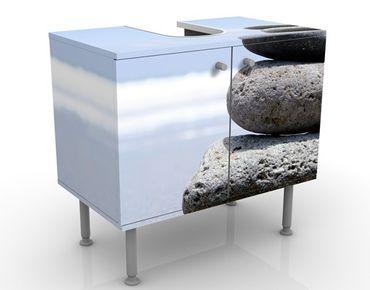 Waschbeckenunterschrank - Sand Stones - Maritim Badschrank