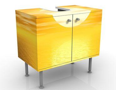 Waschbeckenunterschrank - Summer Sun - Badschrank Gelb