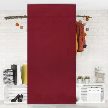 Raumteiler - Bordeaux 250x120cm